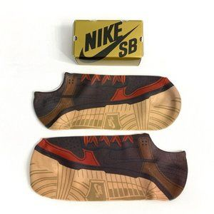 DIAMOND SUPPLY x NIKE SB 'Bison' ankle socks